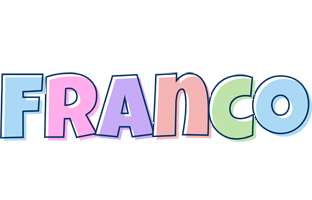 Franco pastel logo