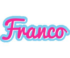 Franco popstar logo