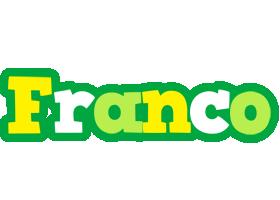 Franco soccer logo