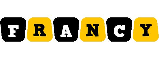 Francy boots logo