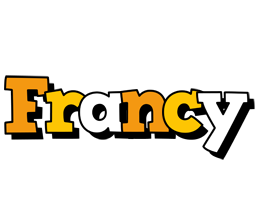 Francy cartoon logo