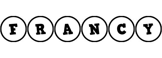 Francy handy logo