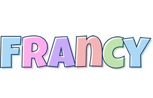 Francy pastel logo