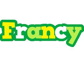Francy soccer logo