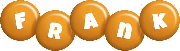 Frank candy-orange logo