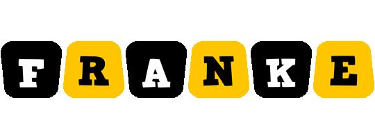 Franke boots logo