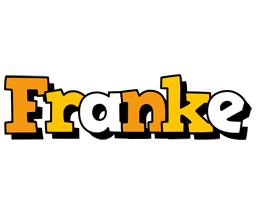 Franke cartoon logo