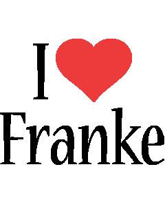 Franke i-love logo