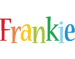 Frankie birthday logo