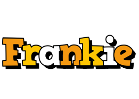 Frankie cartoon logo