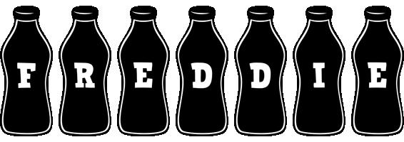 Freddie bottle logo