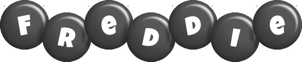 Freddie candy-black logo