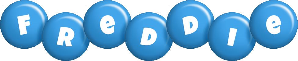 Freddie candy-blue logo