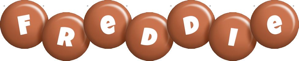 Freddie candy-brown logo