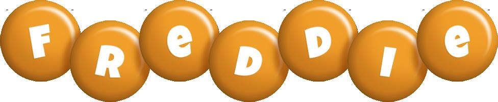 Freddie candy-orange logo