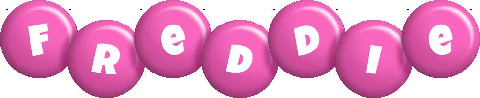 Freddie candy-pink logo