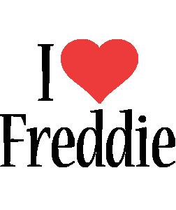 Freddie i-love logo