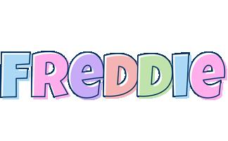 Freddie pastel logo