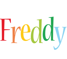 Freddy birthday logo
