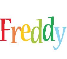 Freddy birthday logo