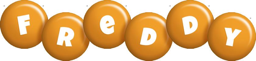 Freddy candy-orange logo