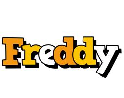Freddy cartoon logo
