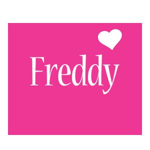 Freddy love-heart logo