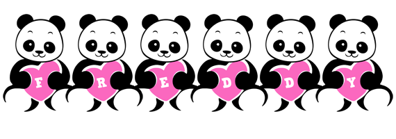 Freddy love-panda logo