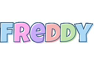 Freddy pastel logo