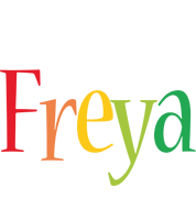 Freya birthday logo