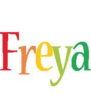 Freya birthday logo