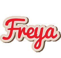 Freya chocolate logo