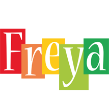 Freya colors logo