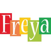 Freya colors logo