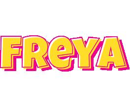 Freya kaboom logo