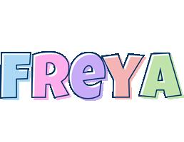 Freya pastel logo