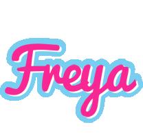 Freya popstar logo