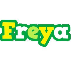 Freya soccer logo