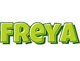 Freya summer logo