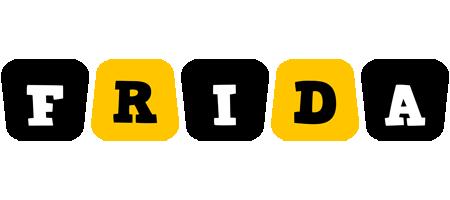 Frida boots logo