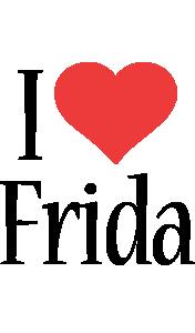 Frida i-love logo