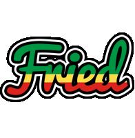 Fried african logo