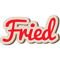 Fried chocolate logo