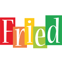 Fried colors logo
