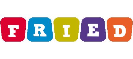 Fried daycare logo