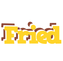 Fried hotcup logo