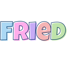 Fried pastel logo
