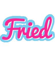 Fried popstar logo