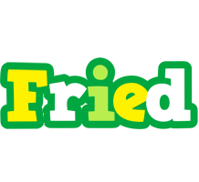 Fried soccer logo
