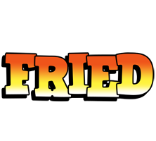Fried sunset logo